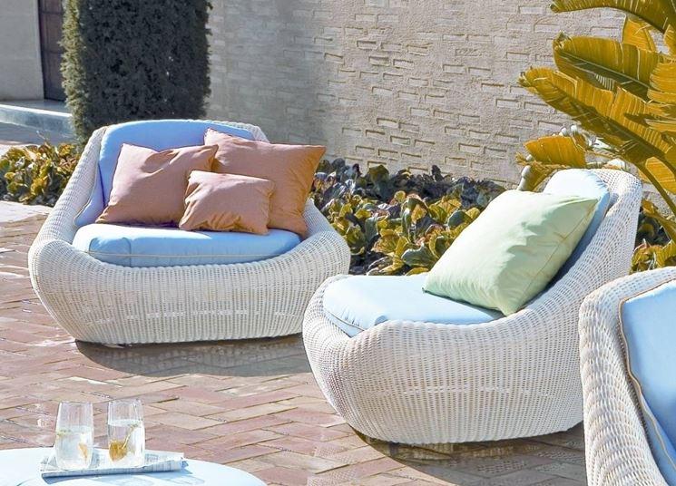 Poltrone da giardino mobili da giardino for Poltrone giardino