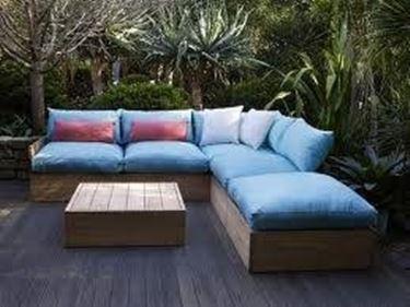Salotti per esterno mobili da giardino for Idee arredo esterno