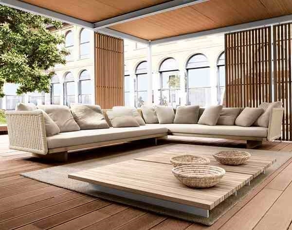 Salotti per esterno mobili da giardino for Immagini salotti