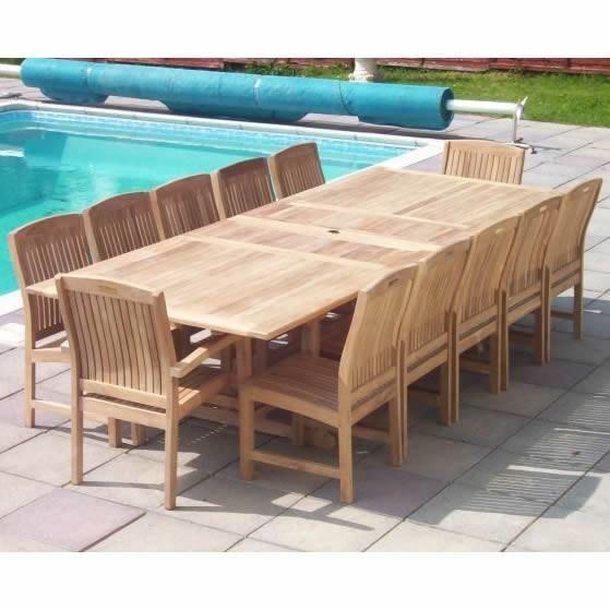 Tavoli da giardino allungabili mobili da giardino for Mobili da terrazzo in legno