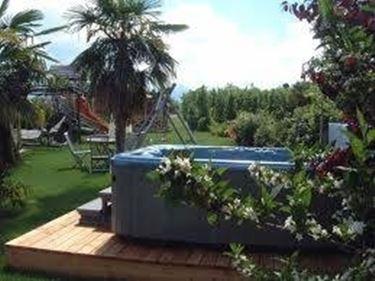 idromassaggio da giardino