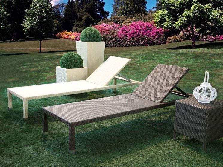 lettini da giardino mobili da giardino lettini da