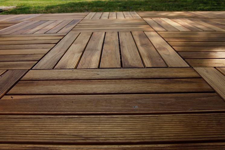 Piastrelle in legno