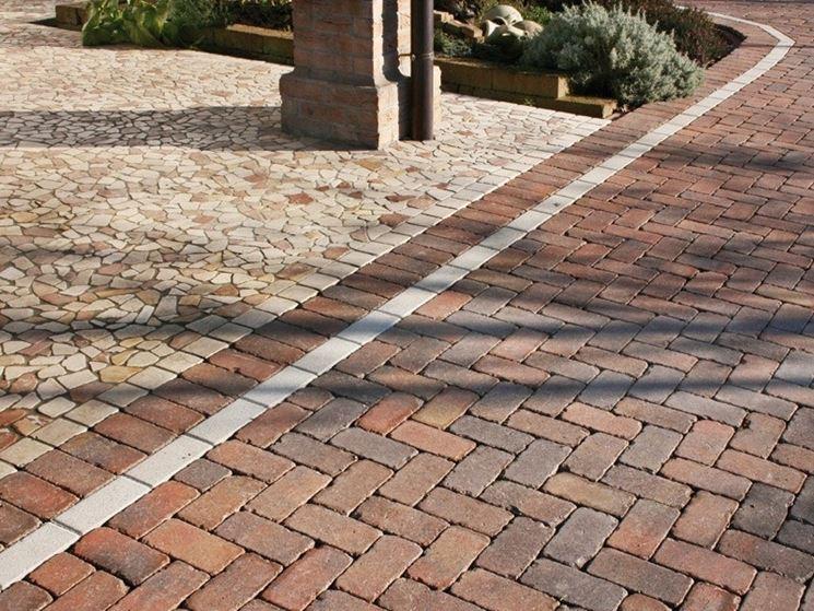 Pavimentazioni esterne pavimenti per esterni come realizzare pavimentazioni per esterno - Mattoncini per esterno ...