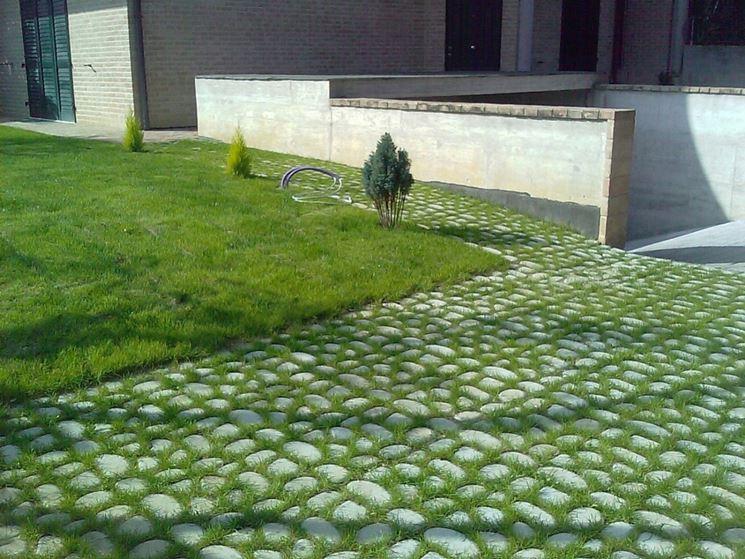 Pavimentazioni esterne pavimenti per esterni come - Pavimentazione giardino senza cemento ...