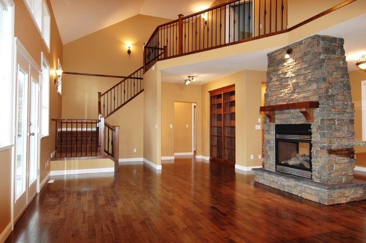 Un elegante pavimento in legno