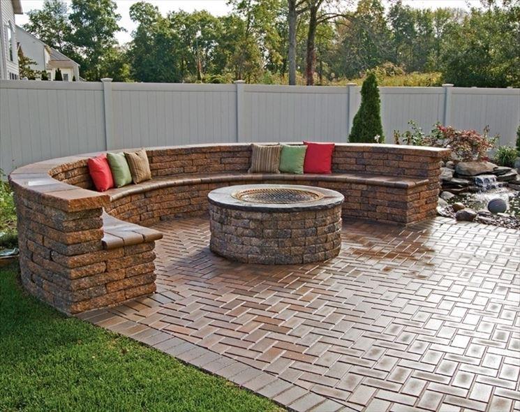 Pavimento in pietra pavimenti per esterni - Pavimento per giardino ...