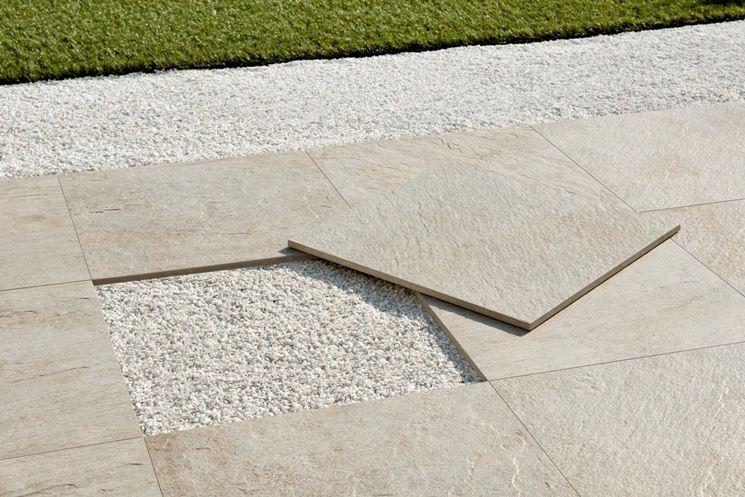 Piastrelle antiscivolo per esterni pavimenti per esterni