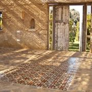 Esempio di pavimenti per esterni.