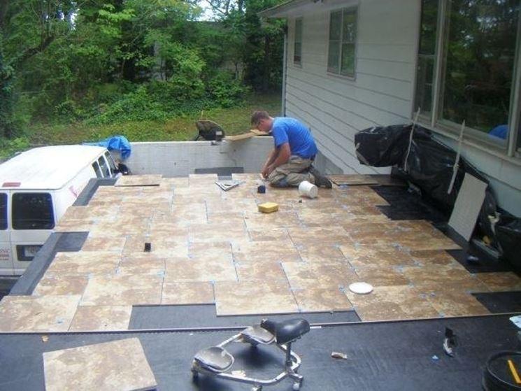 Piastrelle per esterni pavimenti per esterni scegliere - Piastrelle di cemento da esterno ...