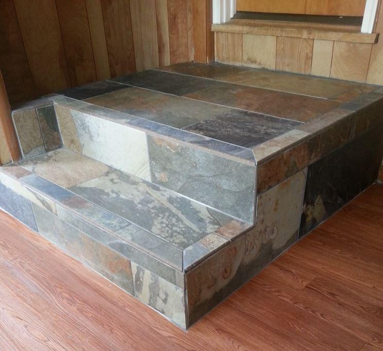 Piastrelle per gradini pavimenti per esterni scegliere for Gradini in gres porcellanato