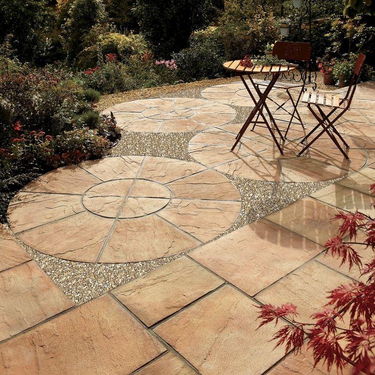 Piastrelle per mosaico - Pavimenti per Esterni - Caratteristiche delle piastrelle per mosaico