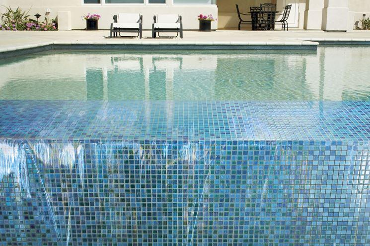 Mattonelle per piscina