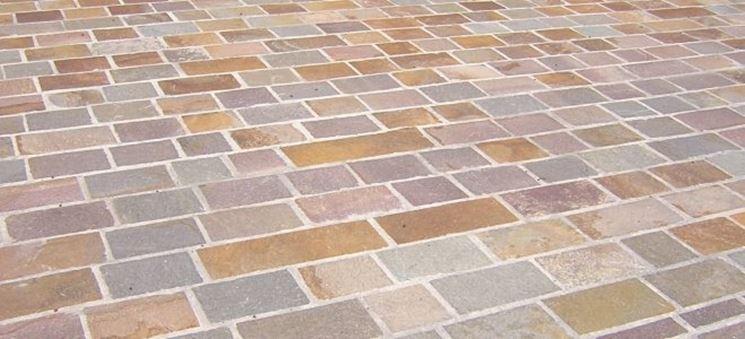 Mattonelle giardino klinker piastrelle per esterni for Piastrelle da esterno ikea