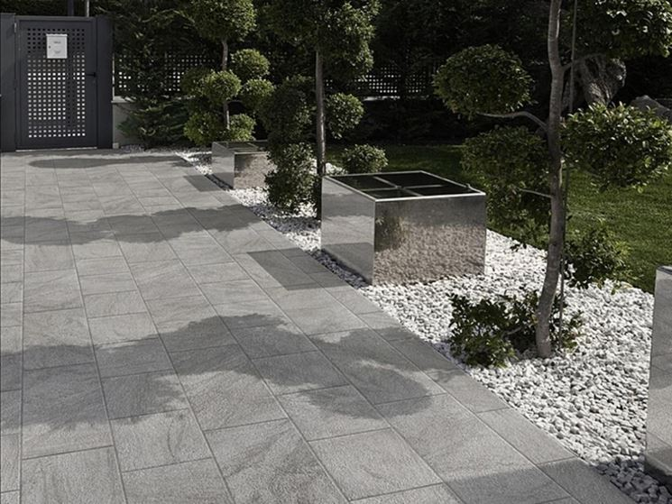Rivestimenti per piastrelle pavimenti per esterni come