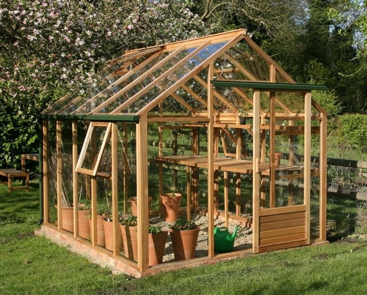 Serre tettoie da giardino