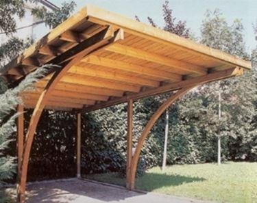 idee per tettoie per macchine : ... auto - Pergole Tettoie Giardino - Copertura auto - Pergole tettoie