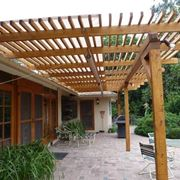 coperture in legno per esterni