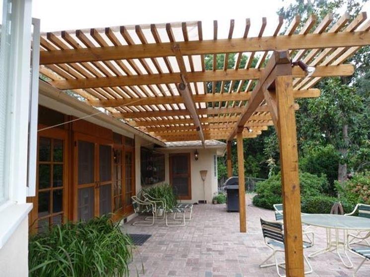 Coperture in legno per esterni pergole tettoie giardino - Tettoie in legno per esterno ...