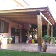 tettoia giardino