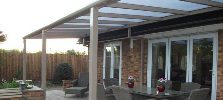 Coperture per verande pergole tettoie giardino - Scale esterne chiuse ...