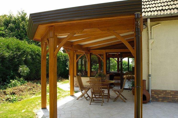 Popolare coperture per verande - Pergole Tettoie Giardino VF47