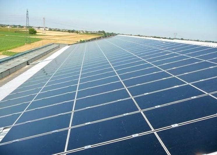 Impianto fotovoltaico solare