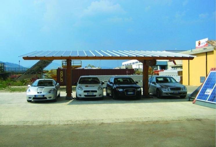 Anche la copertura per l'auto può fornire energia