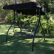 Una pensilina in ferro per il giardino