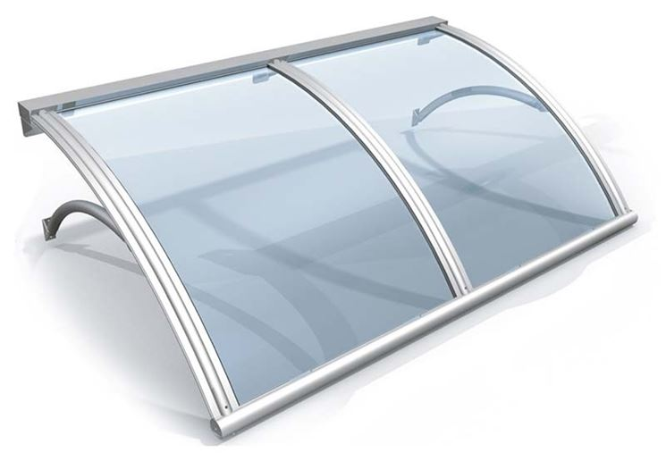 Pensiline plexiglass pergole tettoie giardino for Pensiline in policarbonato amazon