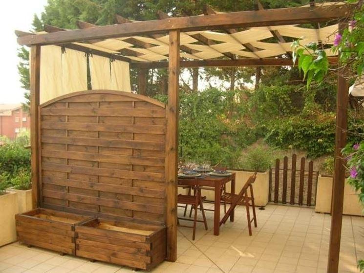 Pensiline plexiglass pergole tettoie giardino - Tettoie in legno per esterno ...