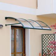 tettoia plexiglass