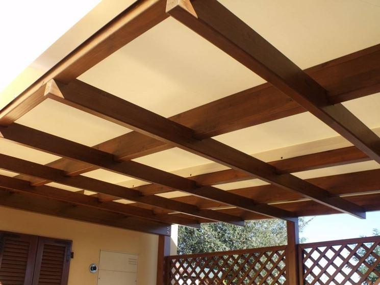 Pergolati in legno pergole tettoie giardino pergolati for Pergola addossata fai da te