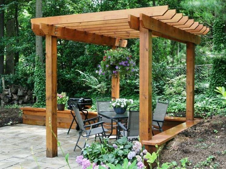 Pergolato fai da te pergole tettoie giardino - Arredo giardino fai da te ...