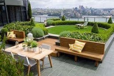 tetti giardino
