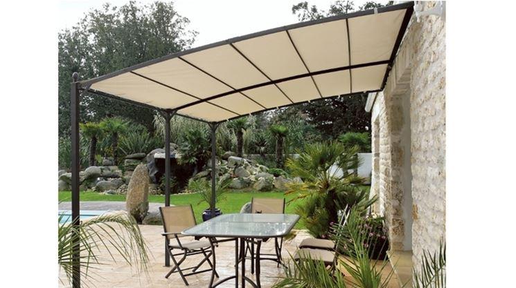 Tettoie in ferro pergole tettoie giardino ferro per realizzare tettoie - Tettoie da giardino in ferro ...