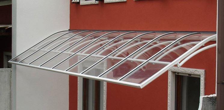 Tettoie plexiglass per esterni