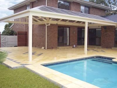 Verande per terrazzi pergole tettoie giardino - Verande da esterno ...