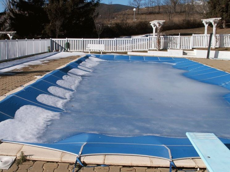 piscine in inverno