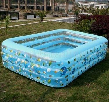 piscina in gommone