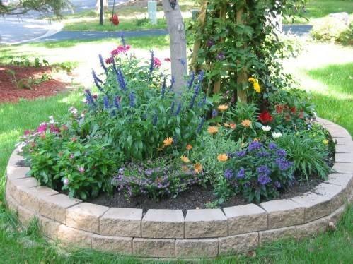 Bordura per aiuole progettazione giardino for Circular flower garden designs
