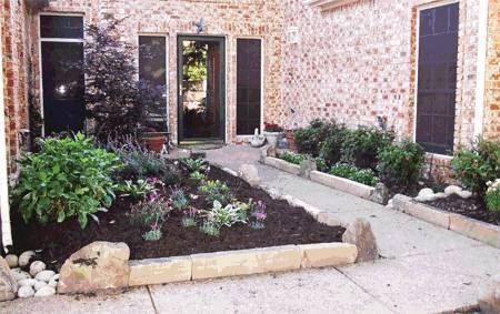 Bordura per aiuole progettazione giardino for Recinzione aiuole