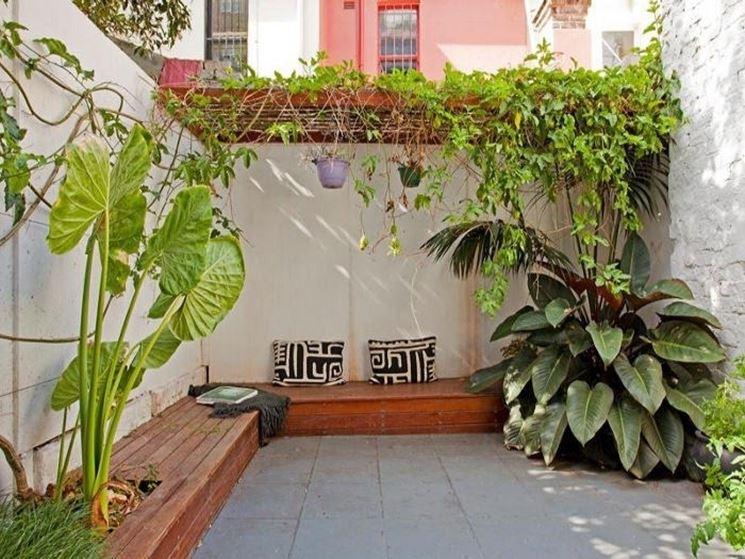 Giardini da sogno progettazione giardino giardini da for Decoracion de patios rusticos
