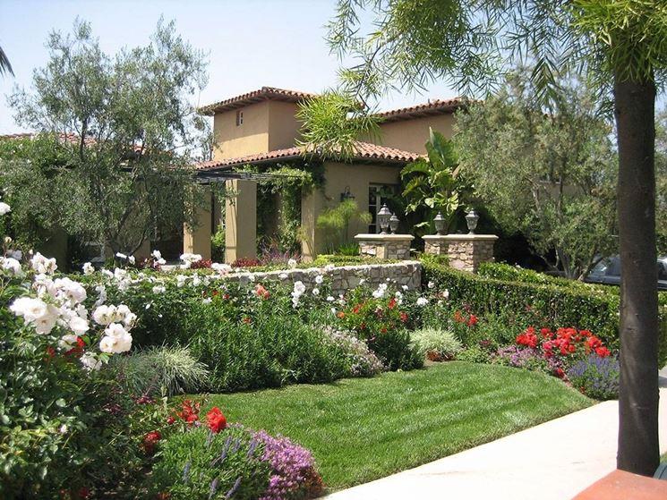 Eccezionale Giardini mediterranei - Progettazione Giardino - Giardini  YK75