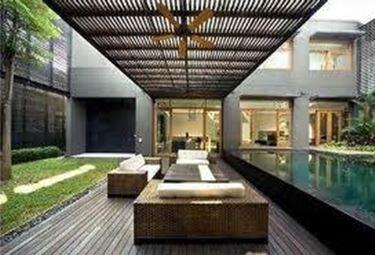 giardino minimalista