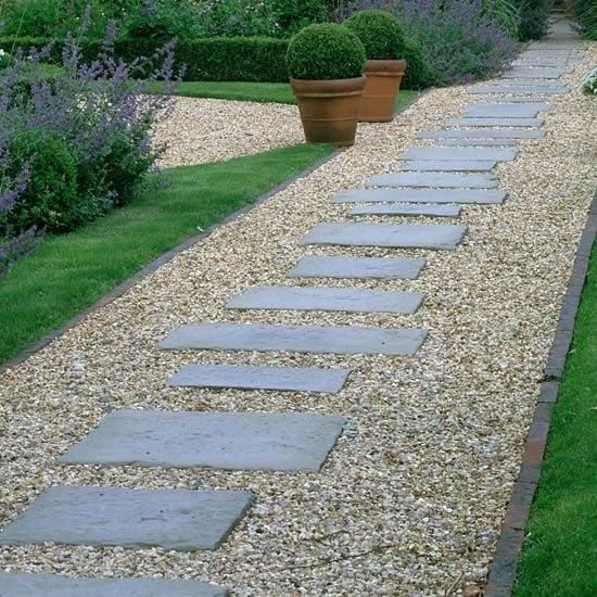 Pavimentazione giardini progettazione giardino - Viali da giardino ...