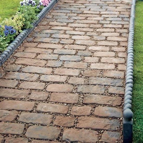 Pavimenti per giardini progettazione giardino - Mattonato per giardino ...