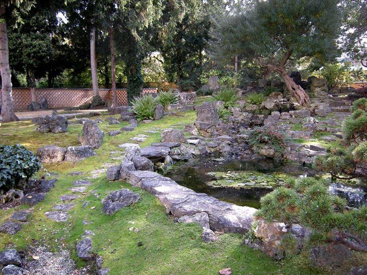 Pietre per giardino progettazione giardino - Giardini decorati ...
