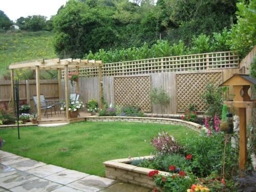 progettare giardino - progettazione giardino - Come Progettare Un Giardino Rettangolare