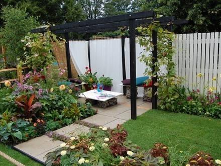 Progettazione piccoli giardini progettazione giardino for Soluzioni per piccoli giardini